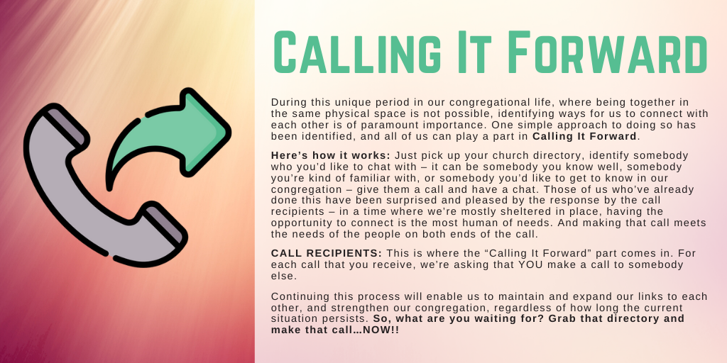 Call It Forward